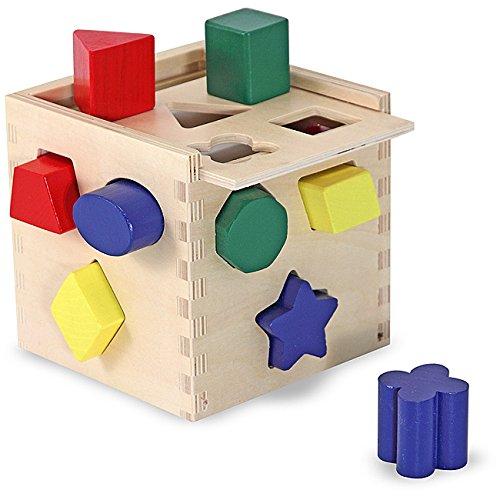 Melissa & Doug Shape Sorting Cube - 1