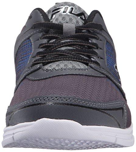 Fila Men's Windstar 2 Running Shoe, Castlerock/Monument/Prince Blue, 10 M US
