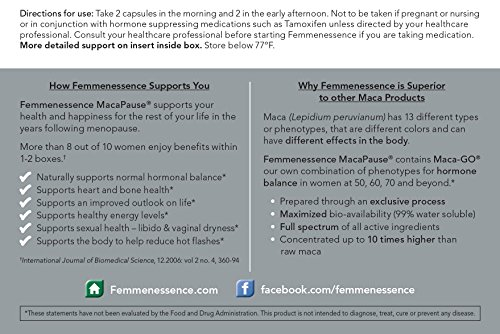 Femmenessence-MacaPause-Hormone-balance-for-women-50-60-70-and-beyond