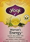 YOGI TEA,OG3,WOMAN'S ENERGY, 16 BAG