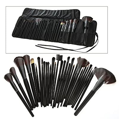 Best Cheap Deal for Generic 32 PCS Makeup Brush Set + Black Pouch Bag Science Purchaseng Strips by Generic - Free 2 Day Shipping Available