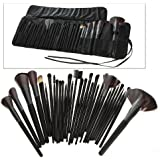 Professional 32 PCS Makeup Brush Set Cosmetic Kit with Black Pouch Bag