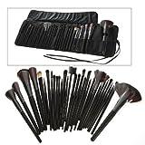 DragonPad® 32 PCS Makeup Brush Set + Black Pouch Bag