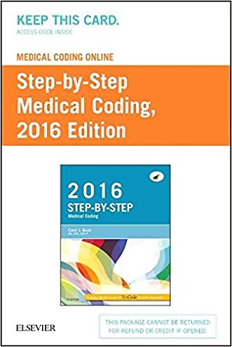 Medical Coding Online for Step-by-Step Medical Coding, 2016 Edition (Access Card), 1e