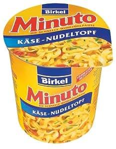 Minuto Birkel Minuto Käse- Nudeltopf, 8er Pack (8 x 70 g)