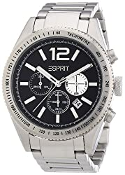 Esprit Chronograph Black Dial Mens Watch - ES104111006