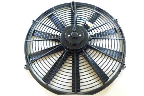"Racer Performance 14"" High Performance Electric Radiator Cooling Fan - Flat Blade"