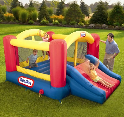 An Image of Little Tikes Jump & Slide Bouncer
