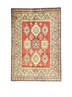 Eden Carpets Alfombra Uzebekistan Rojo/Beige/Verde 212 x 147 cm