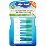 Wisdom Clean Between Interdental Brushes Medium Green x 20 Brushes
