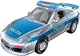 SIMM Spielwaren 50341 - Darda Auto Porsche GT3 Polizei, blau