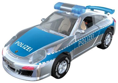 Darda 50341 - Porsche GT3 Polizei blau, ca. 9 cm