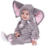 Forum Novelties Baby Boy's Plush Cuddlee Elephant Costume