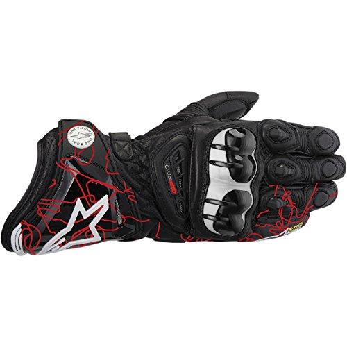 Alpinestars GP Pro Gloves 2013 Model Black/Red Tracks M Medium