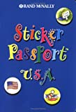 Childrens Travel - Sticker Passport USA [With 80 Four-Color, Reusable Stickers] (Sticker Passports)