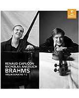 Brahms : Sonates pour violon n° 1, n° 2 et n° 3