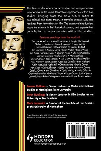 Film Studies (Hodder Arnold Publication)