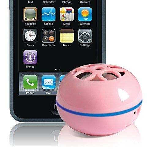 Grandmax Teeny Tweakers Portable Mini Boom Speakers for iPod / Mp3 Players & Laptops (Pink) (Tweakers Portable Mini Speakers compare prices)