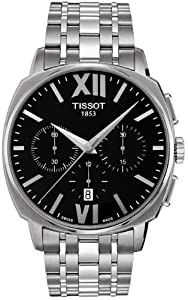 Tissot Men's T059.527.11.058.00 Veloci-T Tachymeter Stainless Steel Watch