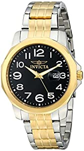 Invicta Men's 6863 II Collection Eagle Force 18k Gold-Plated and Stainless Steel Watch