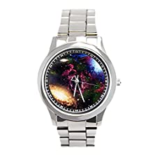 buy Galaxies And Nebulas Of Outer Space Stainless Steel Wrist Watches