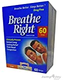 Breathe Right Nasal Strip, Large (Tan), 60 Strips (Value Pack)
