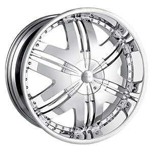 DIP Phoenix D36 Chrome Wheel (22×9.5″/10x115mm)