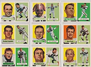Cleveland Browns 1957 Topps Archives Football Reprint Team Set (Eastern Division... by Topps