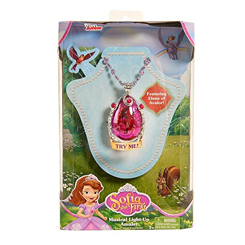 Sofia The First Musical Light-Up Amulet Featuring Elena
