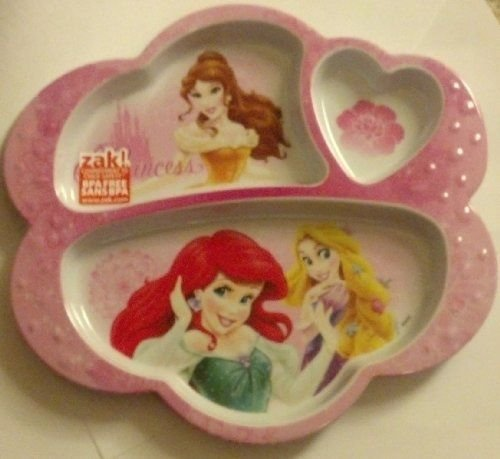 Disney Princess Divided Plate - 1