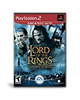 Lord of the Rings The Two Towers - Ps2 - Disc Only