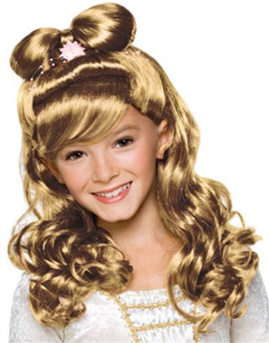 Rubies Elegant Princess Blond Child Wig