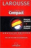 Dictionnaire Fran�ais-Allemand Allemand-Fran�ais par Larousse
