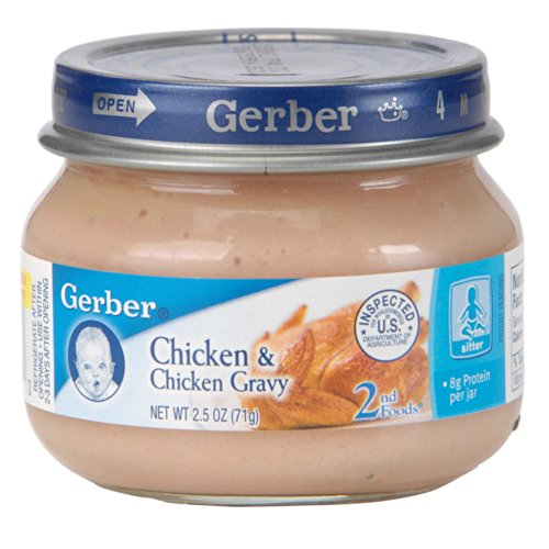 Gerber 2Nd Foods Chicken And Chicken Gravy -- 2.5 Oz Each / Pack Of 6