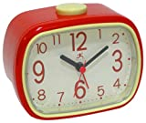 Infinity Instruments That 70's Clock - Red Alarm Clock
