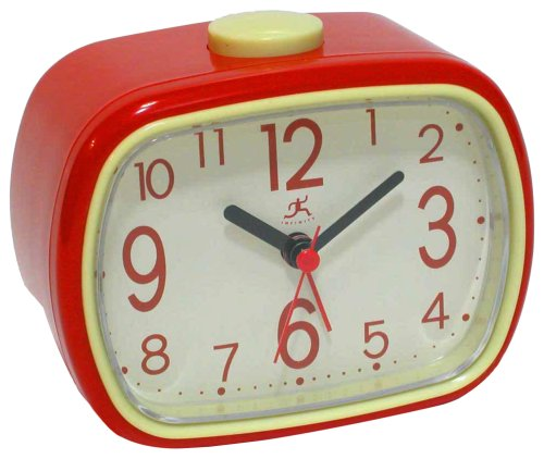 Infinity Instruments That 70's Clock - Red Alarm Clock
