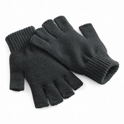 beechfield-guanti-senza-dita-invernali-unisex-s-m-carbone
