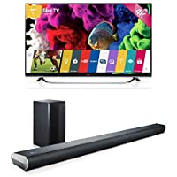 LG Electronics 60UF8500 60-Inch TV with LAS551H Sound Bar from LG