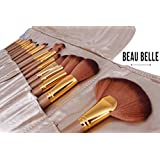 Beau Belle Makeup Brushes - 21pcs Make Up Brush Set - Makeup Brush Holder - Professional Makeup Brushes - Make...