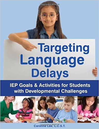 Book cover: targeting language delays