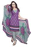 Khodiyar Creation Women's Crepe Fabric Multicolor Dress Materials.