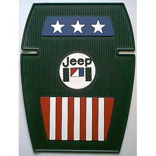 jeep amc logo americana floor mats. Black Bedroom Furniture Sets. Home Design Ideas