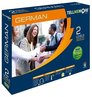 TELL ME MORE German v10 2 levels (PC DVD)