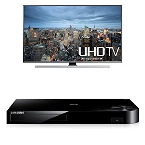 Samsung UN65JU7100 65-Inch TV with BD-H6500 Blu-ray Player from Samsung