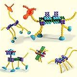 Baby ZoneR 人気の積み木おもちゃ 子ども プレイスティックス ブロック キッズ 工作キット 小学生 知育玩具(入門用68pcs)