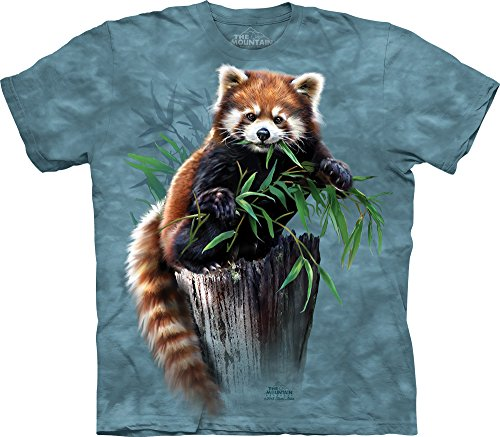 Bamboo Red Panda T-Shirt-M