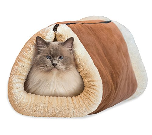 Kitty Shack Thermo Cat Pet Bed Mat Blanket Tube 100% Washable By Raphael Rozen