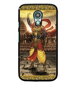PrintDhaba Lord Krishana D-5698 Back Case Cover for MEIZU M2 NOTE (Multi-Coloured)