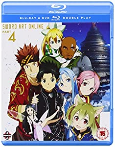 Sword Art Online Part 4 (Episodes 20-25) Blu-ray/DVD Double Play