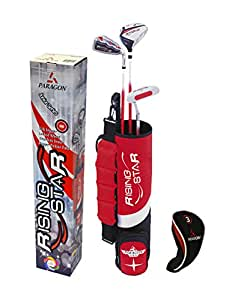 Rising Star Kid's Golf Club Set - Silver, 3-5 Years